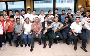 Kontingen Wushu Indonesia Tiba di Medan