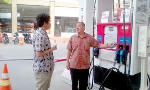 Brilian Moktar Pantau Ketersediaan BBM Jelang Lebaran Pertamina Akan Tambah Pasokan BBM Penuhi Kebutuhan Masyarakat