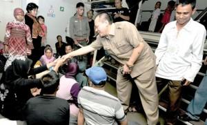 Anggota DPRD Sumut Dapil Medan Sidak ke Pelabuhan Belawan Kapasitas Penumpang Atasi Kecelakaan